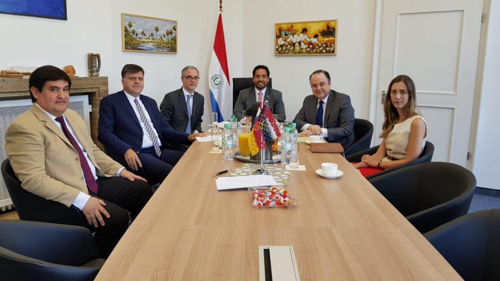 Reunión preparatoria a la Conferencia Mercosur/Unión Europea en el parlamento Alemán.