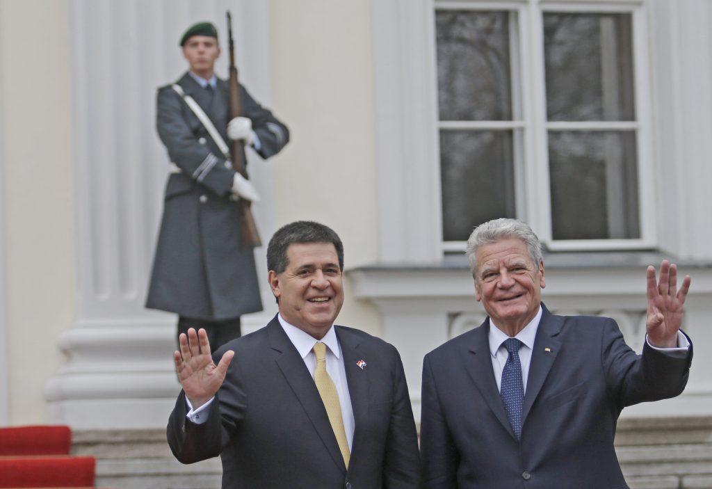 Foto 3 Besuch an Gauck