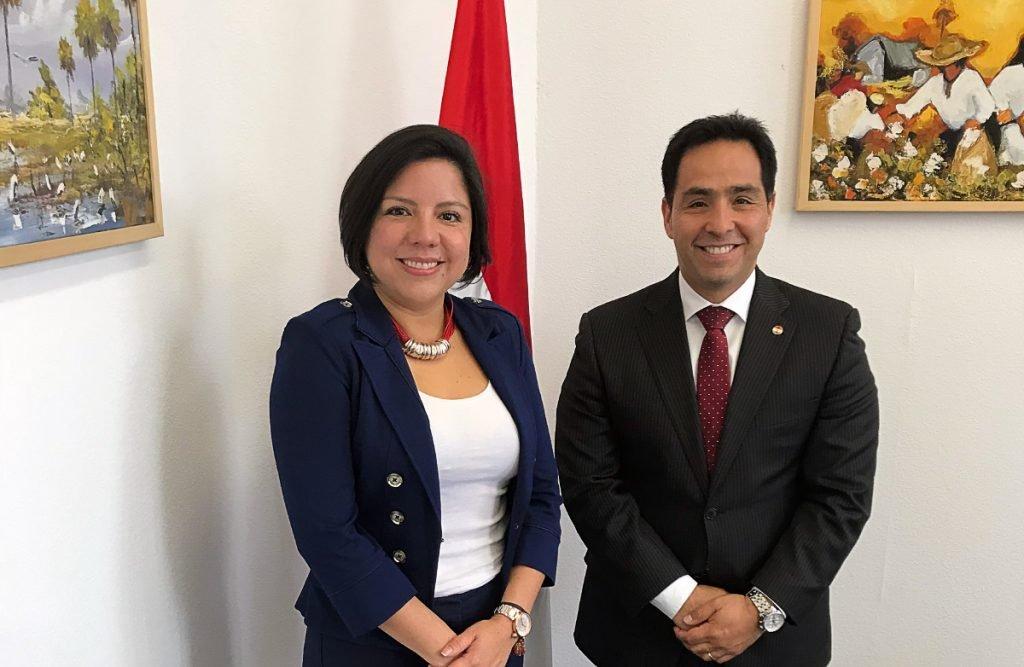 Reunión con la Embajadora de Honduras en Alemania S.E. Doña Christa Castro Varela