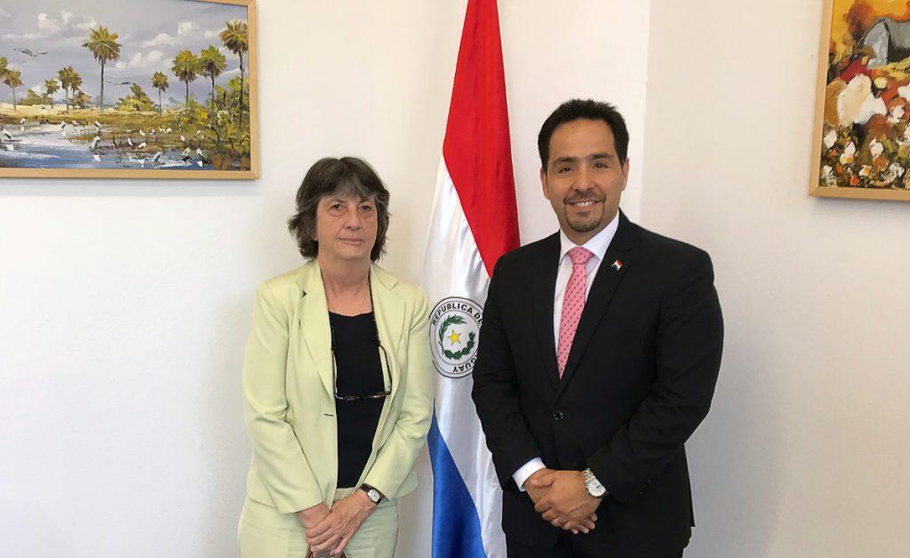 Reunión con la Embajadora de Chile en Alemania S.E. Cecilia Mackenna Echaurren