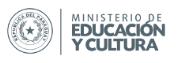 ministerio de educacion y cultura