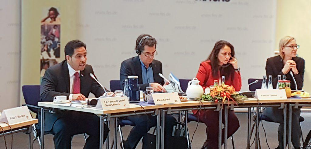 Panel de discusión GRULAC: La digitalización y el futuro del trabajo.