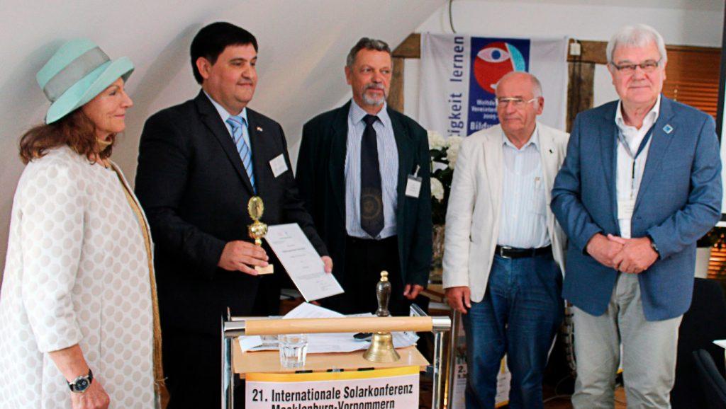 Paraguay gana premio internacional en producción de energía renovable