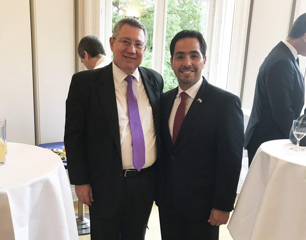 Toma de posesión del embajador Óscar Cabello como juez en el Tribunal Internacional del derecho del Mar