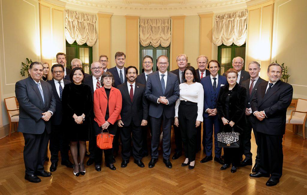 Reunión con el Ministro de Estado Niels Annen