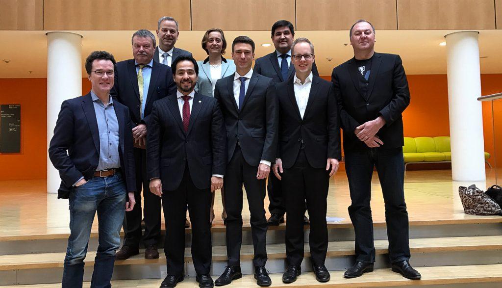 Reunión con Parlamentarios miembros del grupo de amistad con los países del Cono Sur.