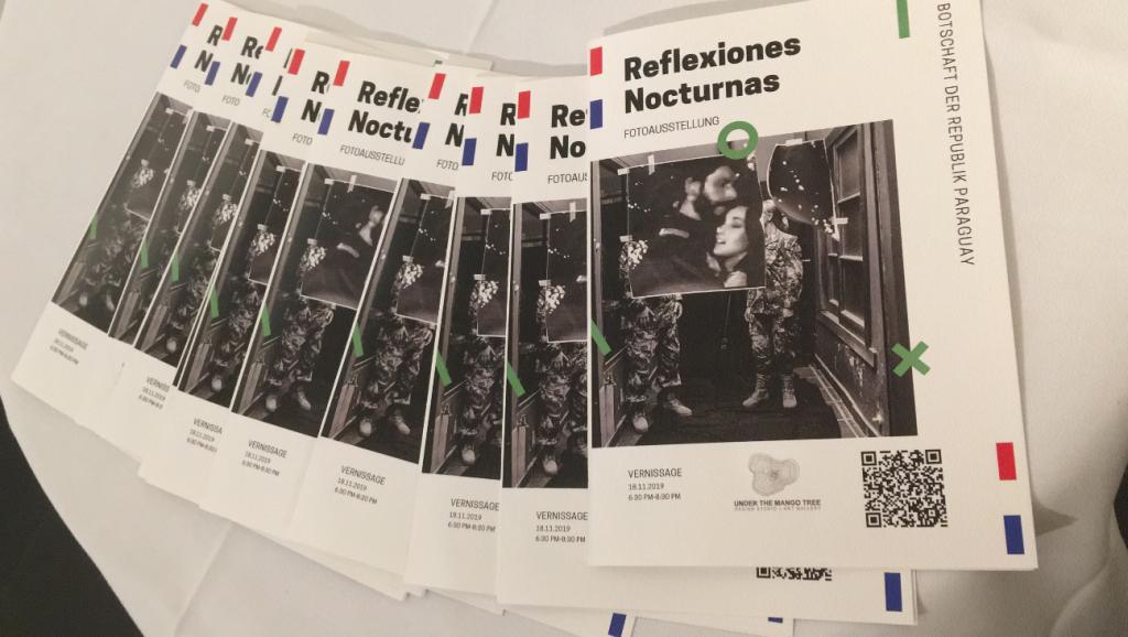 """Vernissage """"Reflexiones Nocturnas"""" (Nächtliche Betrachtungen) in Berlin"""